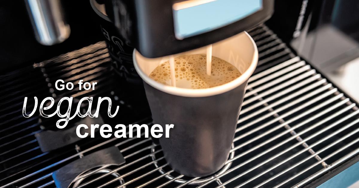 veganer Kaffeeweißer